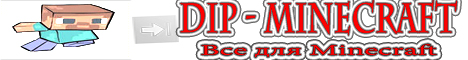 Баннер сайта dip-minecraft